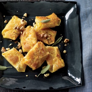 Butternut Squash and Sage Wontons