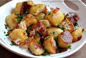 Oven Roasted Potatos