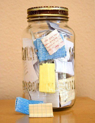 New Year Of Memories Jar