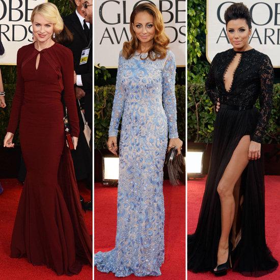 Golden-Globes-Long-Sleeved-Dresses-Trend-2013