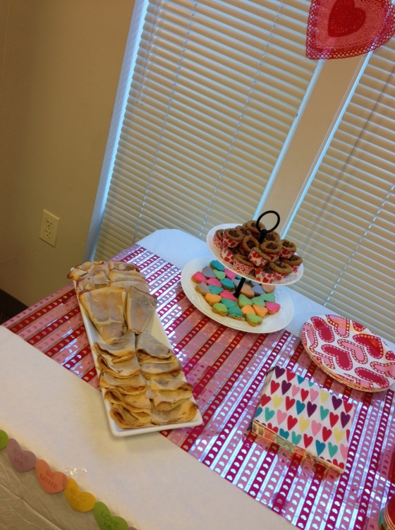 Savory Crepes, Cheesecake Hearts, Peanut Butter Hersey Kiss Cookie Cupcakes