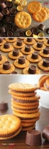 Rollo Ritz Cracker Sandwich Cookies