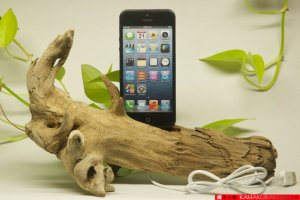 Driftwood charger