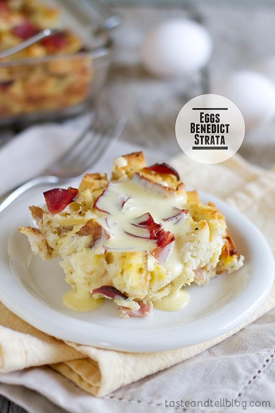 Eggs Benedict Strata