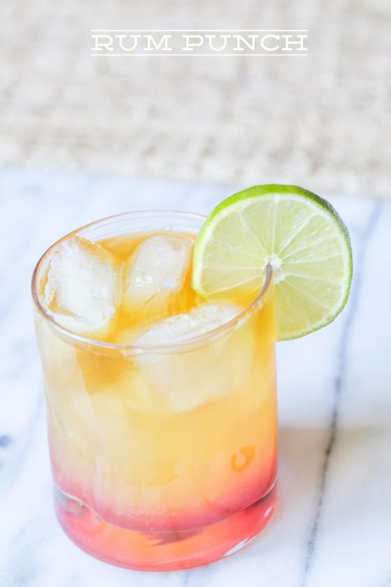 Turks & Caicos Rum Punch