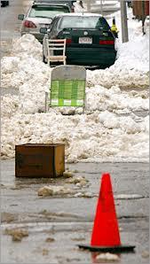 Boston Snow Parking Savers